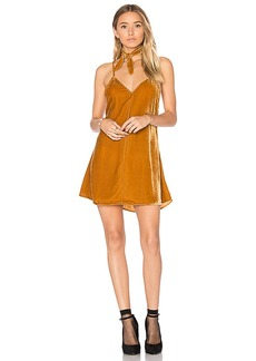 For Love & Lemons Collette Tank Dress in Tan. - size L (also in S,M)