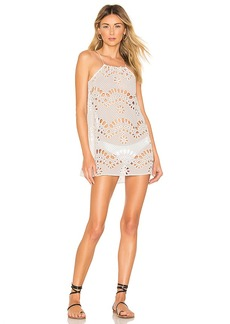 For Love & Lemons Cookies N Cream Tank Cover Up