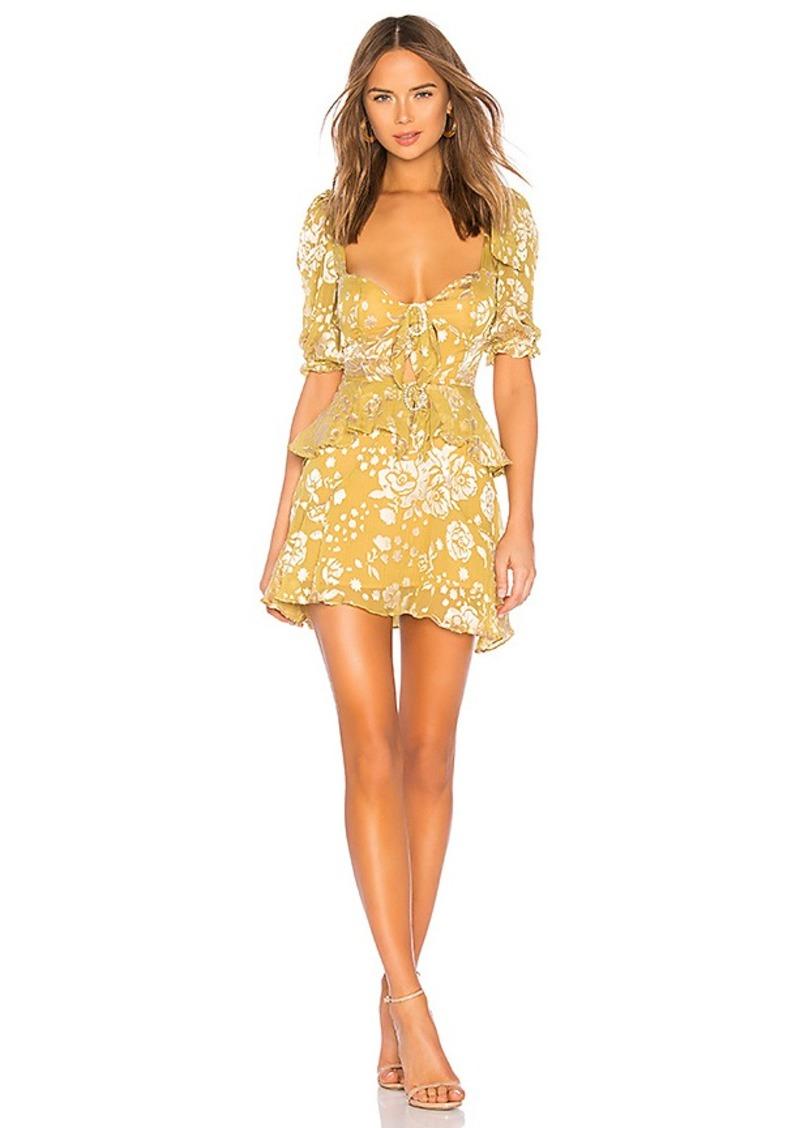 For Love & Lemons Cosmo Mini Dress