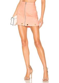 For Love & Lemons Creme Puff Mini Skirt