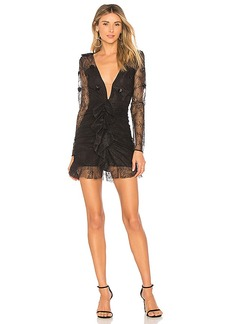 For Love & Lemons Daisy Lace Mini Dress