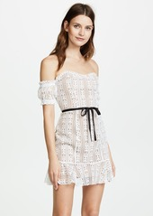For Love & Lemons Dakota Lace Mini Dress