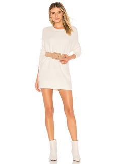 For Love & Lemons Dylan Boyfriend Sweater Dress