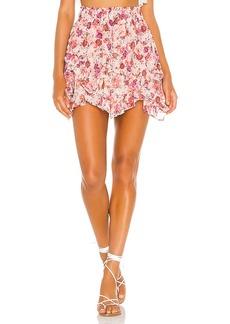 For Love & Lemons Evie Mini Skirt