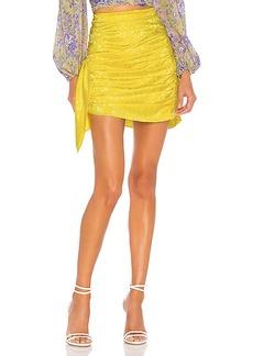 For Love & Lemons Fiji Mini Skirt