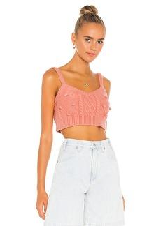 For Love & Lemons Florentina Sweater Tank