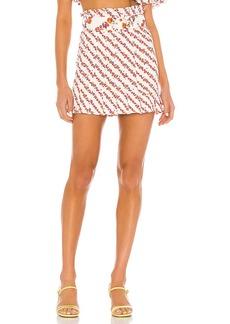 For Love & Lemons Georgia Mini Skirt