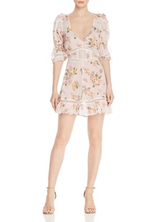 For Love & Lemons Isadora Floral Mini Dress