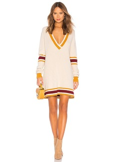 For Love & Lemons ivy League Sweater Dress