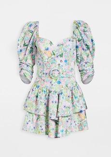 For Love & Lemons Jardine Mini Dress