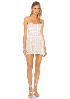 For Love & Lemons Jelena Strapless Dress