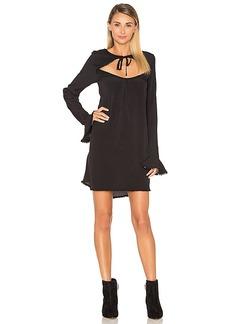 For Love & Lemons Josephina Swing Dress in Black. - size M (also in S,XS)