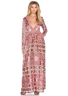 For Love & Lemons Juliet Maxi Dress