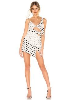 For Love & Lemons June Asymmetrical Dress