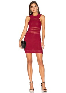 For Love & Lemons KNITZ Rivington Tank Dress in Red. - size M (also in L,S)
