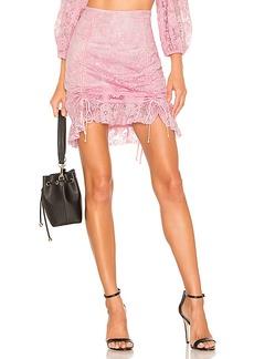 For Love & Lemons Lafayette Mini Skirt
