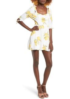 For Love & Lemons Limonada Minidress