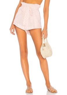 For Love & Lemons Lotti Gingham Short