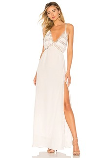 For Love & Lemons Lovebird Maxi Dress