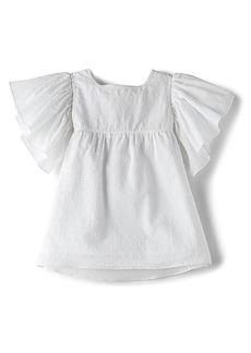 For Love & Lemons Lovebug Swiss Dot Sundress in White. - size 2T (also in 3T,4T,6)