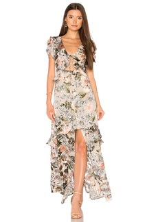 For Love & Lemons Luciana Maxi Dress