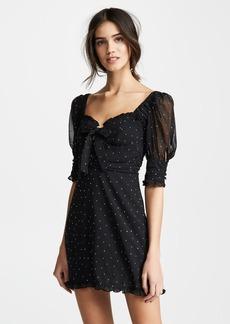 For Love & Lemons Lucky Dice Mini Dress