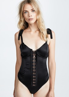 For Love & Lemons Lucy Hook and Eye Bodysuit