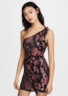 For Love & Lemons Luella Jacquard Mini Dress