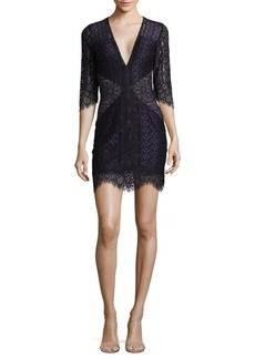 For Love & Lemons Lyla Mini Dress