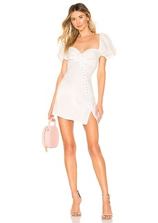 For Love & Lemons Macaroon Hook Front Mini Dress