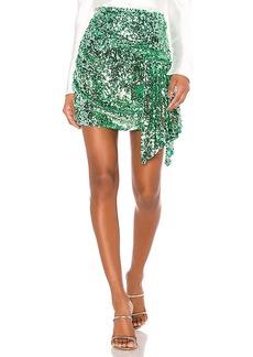 For Love & Lemons Madeleine Sequin Skirt