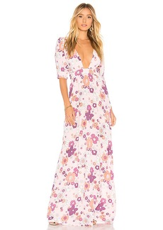 For Love & Lemons Magnolia Maxi Dress