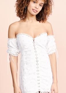 1509b5fa7ad26 For Love & Lemons For Love & Lemons X REVOLVE Black Jack Mini Dress ...