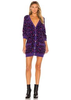 For Love & Lemons Marielle Cardi Sweater Dress
