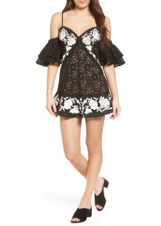 For Love & Lemons Matador Lace Minidress