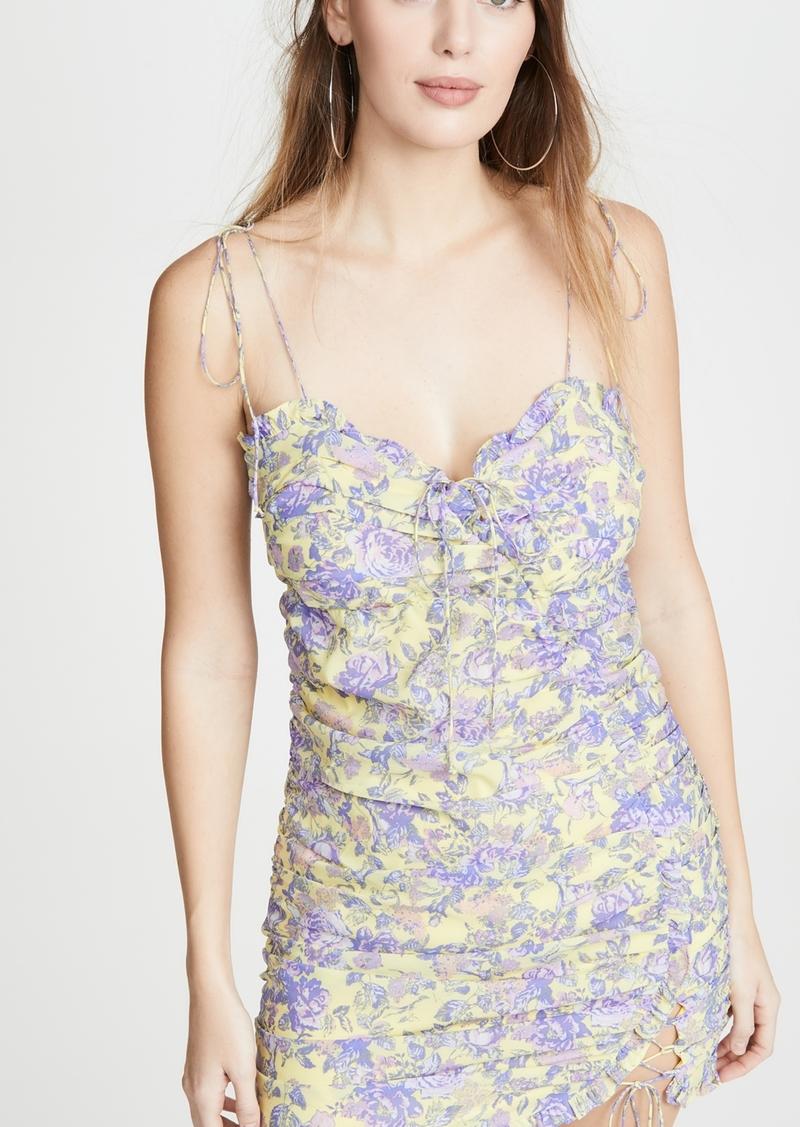 For Love & Lemons Maui Mini Dress