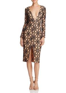 For Love & Lemons Metz Midi Dress