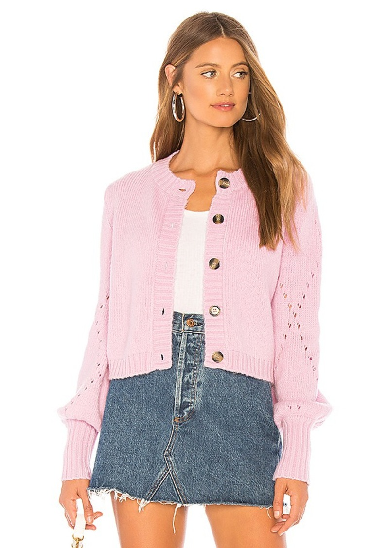 For Love & Lemons Mia Pointelle Cardigan