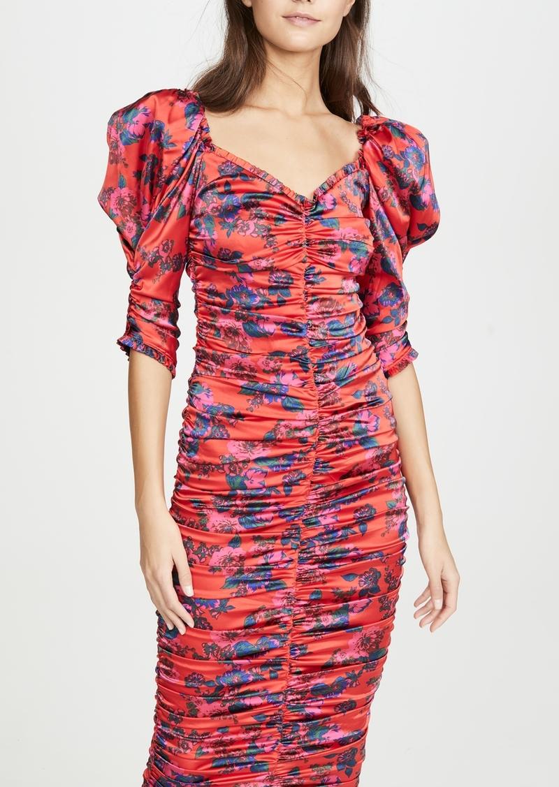 For Love & Lemons Monet Midi Dress