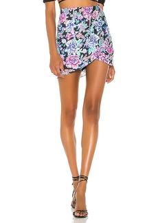 For Love & Lemons Morgan Mini Skirt