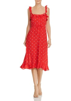 For Love & Lemons Natalia Polka-Dot Dress
