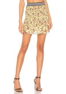 For Love & Lemons Odette Mini Skirt