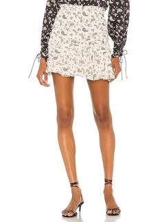 For Love & Lemons Paisley Mini Skirt