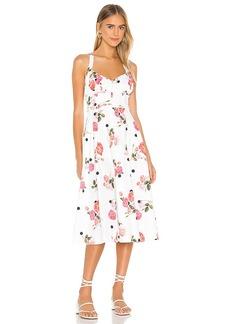 For Love & Lemons Paloma Midi Dress
