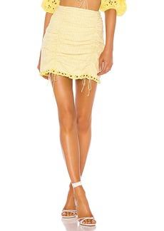 For Love & Lemons Picnic Mini Skirt