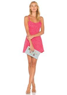 Pink Star Tank Dress