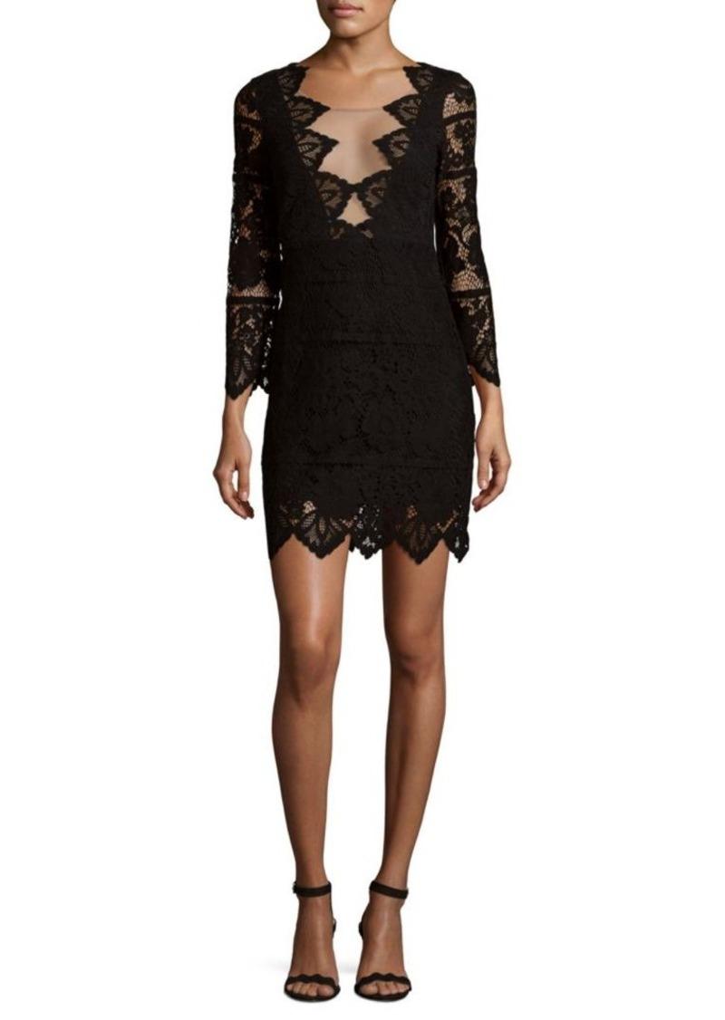 f8d06a6f3e4 For Love   Lemons For Love   Lemons Pull-On Noir Mini Dress