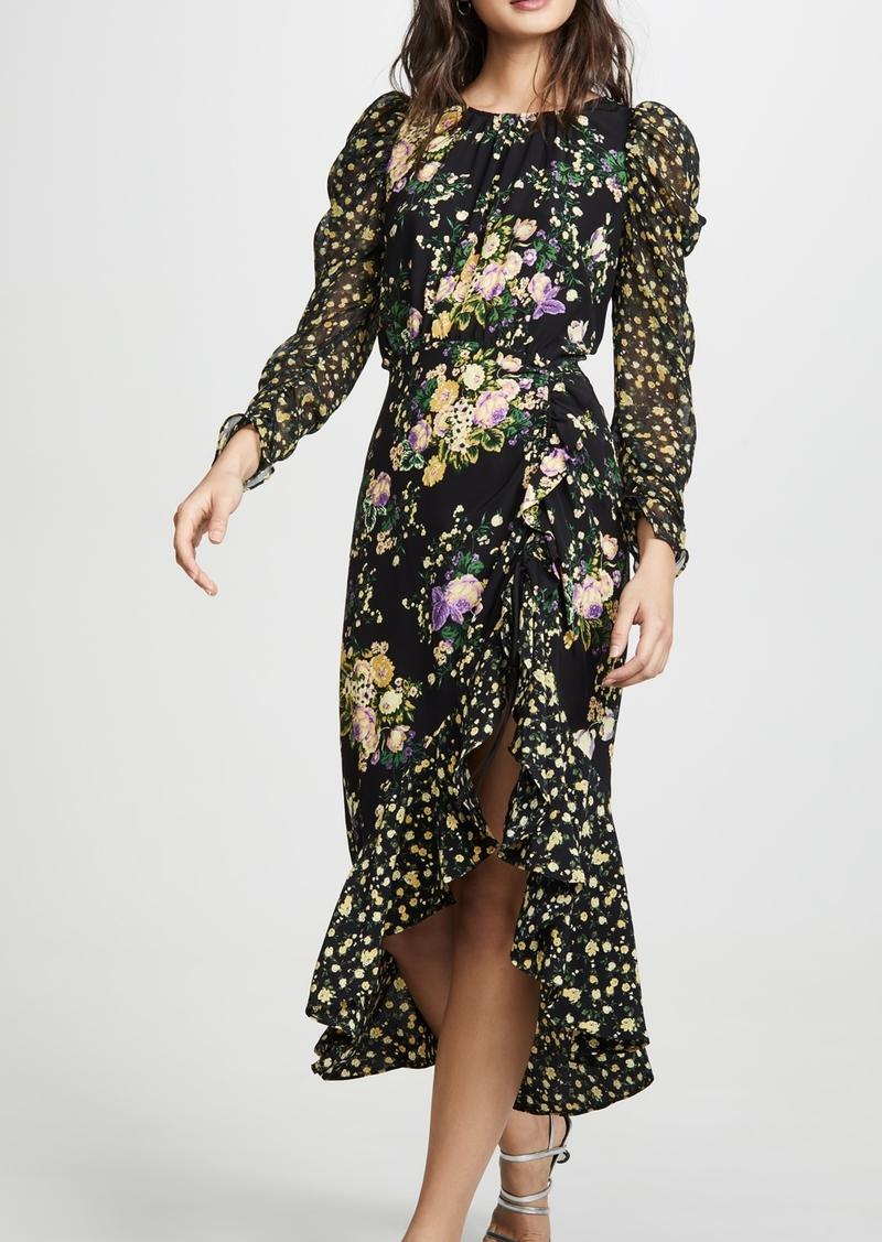 For Love & Lemons Ross Midi Dress