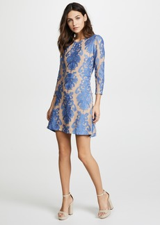 For Love & Lemons San Marcos Long Sleeve Mini Dress