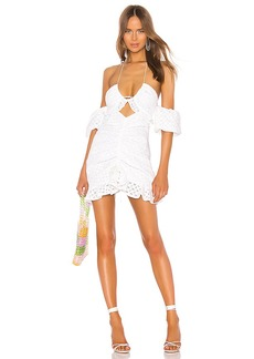For Love & Lemons Sand Dollar Mini Dress
